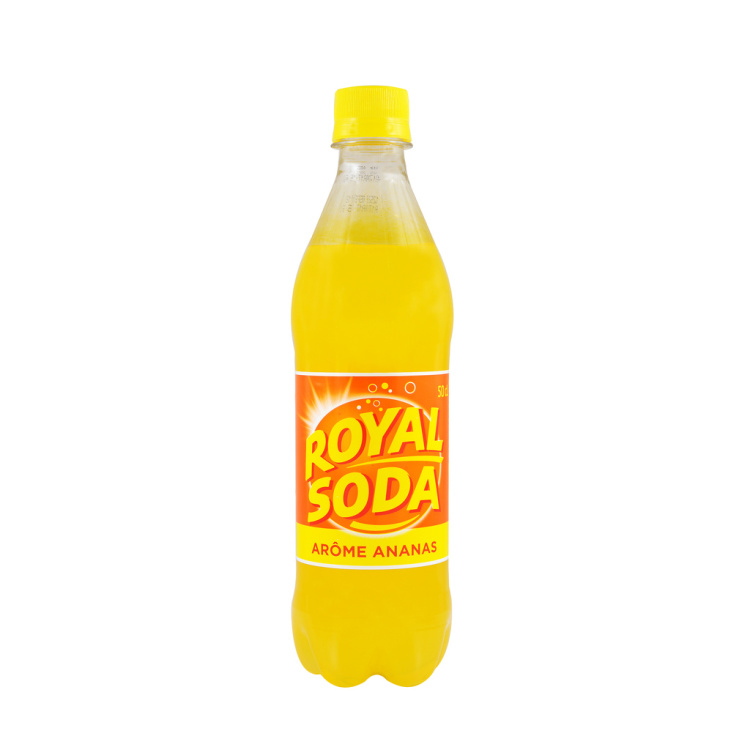 Royal soda ananas 50cl